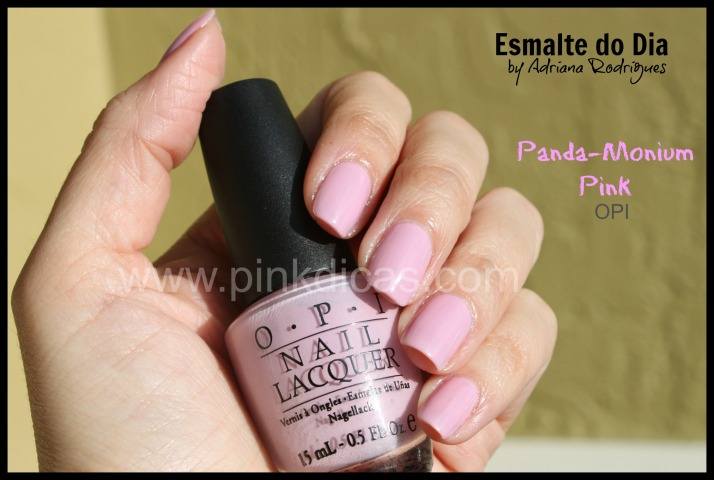 OPI Panda Monium Pink 01a